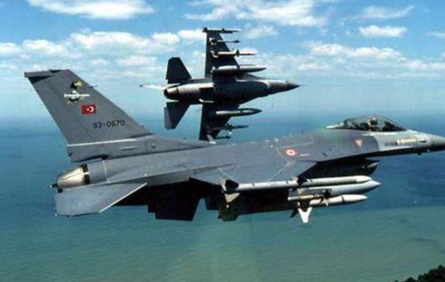 Μπαράζ τουρκικών παραβιάσεων – Εμπλοκή με τουρκικά μαχητικά στο Αιγαίο