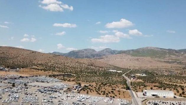 Το επίκεντρο του ισχυρού σεισμού στην Αθήνα από ψηλά (βίντεο)