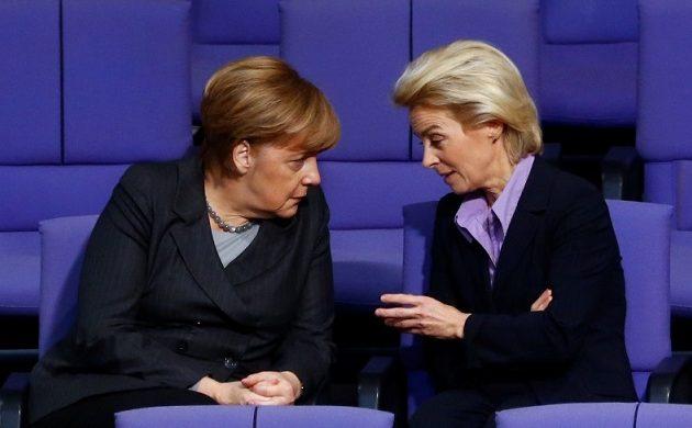 Τι είπε η Μέρκελ για την εκλογή της Ούρσουλας στην Κομισιόν