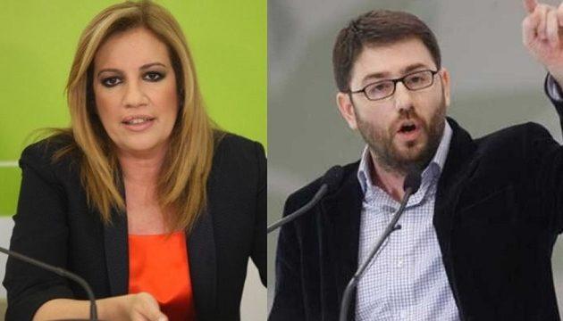 «Σφάζονται» στο ΚΙΝΑΛ: Ανδρουλάκης και Ρέππας επιτέθηκαν στη Γεννηματά