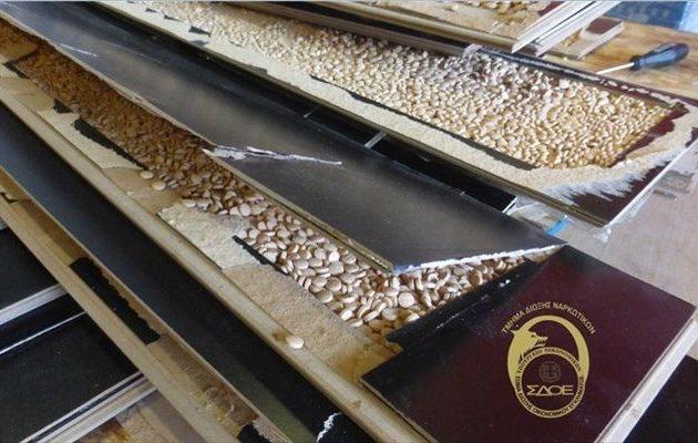 Ακόμα μετρούν τα χάπια τζιχαντιστών Captagon που έπιασαν στο Κερατσίνι – 23 εκ. και… συνεχίζουν