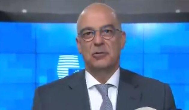Νίκος Δένδιας: «Προς τη σωστή κατεύθυνση» η στάση της ΕΕ απέναντι στην τουρκική προκλητικότητα