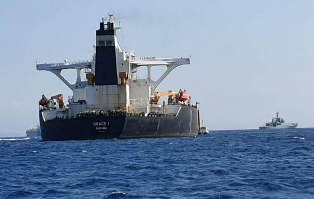 Αφέθηκαν ελεύθεροι ο καπετάνιος και οι αξιωματικοί του ιρανικού τάνκερ που κατασχέθηκε στο Γιβραλτάρ