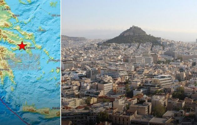 Ενημέρωση τουριστών για σεισμική δόνηση και οδηγίες