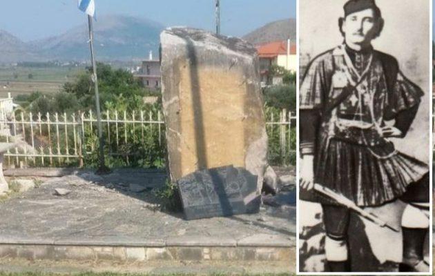 Αλβανοί εξτρεμιστές ανατίναξαν το μνημείο του οπλαρχηγού Θύμιου Λώλη – Τι λέει το ΥΠΕΞ