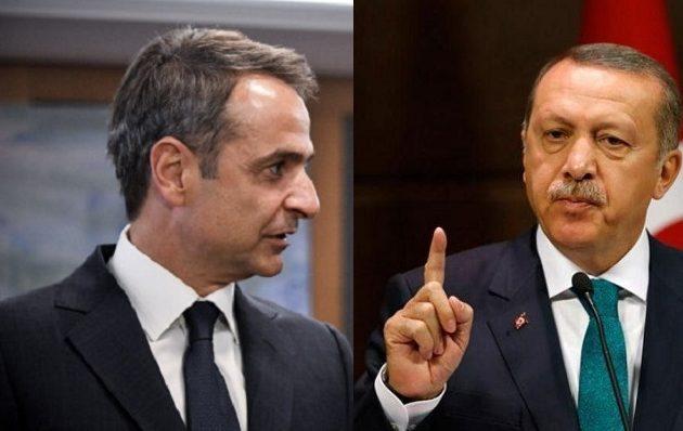 Ερντογάν: Τι είπαμε με τον Μητσοτάκη – Συνεχίζει να απειλεί με ναυτικό και αεροπορία