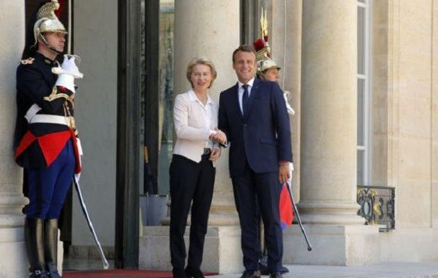 Η Ούρσουλα συνάντησε Μακρόν – «Να εργαστούμε για μια ισχυρή και φιλόδοξη Ευρώπη»