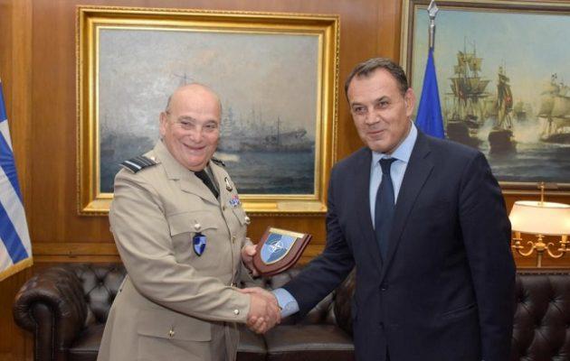 Ο Παναγιωτόπουλος είδε υψηλόβαθμο στέλεχος του ΝΑΤΟ – Τι συζήτησε