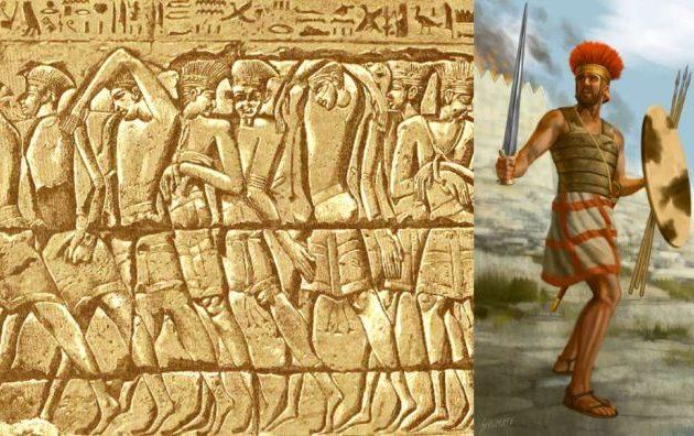 Το DNA απέδειξε ότι οι Φιλισταίοι είχαν καταγωγή από την Ελλάδα