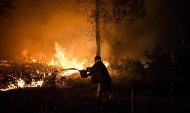 Μεγάλες φωτιές στην Πορτογαλία – Συνελήφθη ύποπτος εμπρηστής
