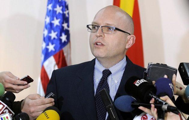 Οι ΗΠΑ στηρίζουν την ενταξιακή πορεία της Βόρειας Μακεδονίας