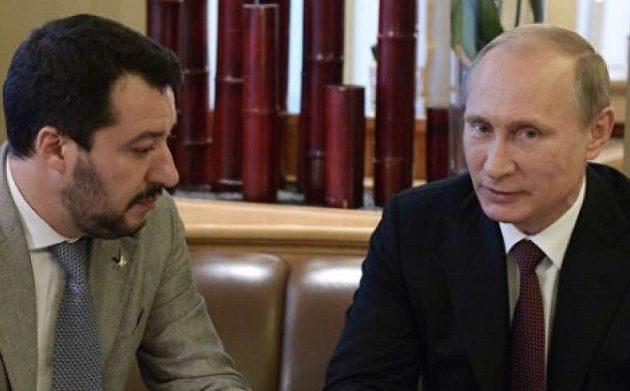 Αποκάλυψη: Ο Πούτιν προσπάθησε να χρηματοδοτήσει μυστικά τη Λέγκα του Σαλβίνι