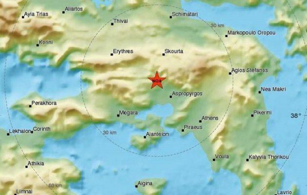 Σεισμός Αττική: Σαράντα εννέα μετασεισμικές δονήσεις μέχρι το πρωί του Σαββάτου