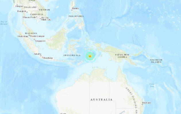 Ισχυρός σεισμός 7,3 βαθμών χτύπησε την Ινδονησία