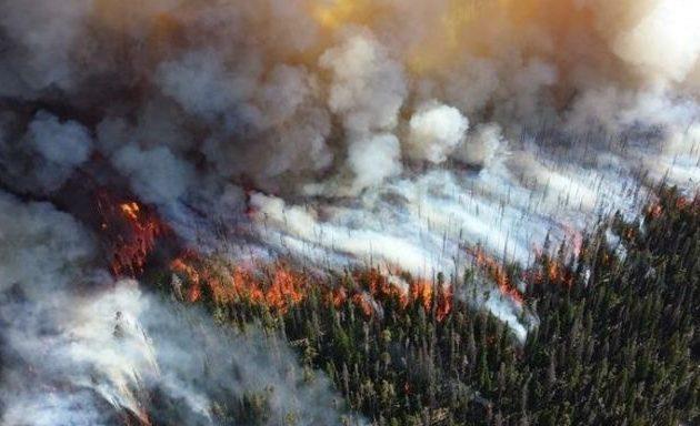 Πύρινη κόλαση η Σιβηρία – Πρωτοφανής οικολογική καταστροφή