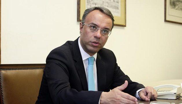 Σταϊκούρας: Θα διαπραγματευτούμε τους στόχους για το πλεόνασμα