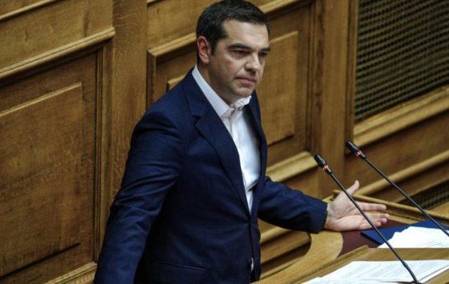 Τσίπρας σε Μητσοτάκη: «Τώρα είναι καλή η Συμφωνία των Πρεσπών;» – «Δεν λέτε κουβέντα για την Τουρκία»