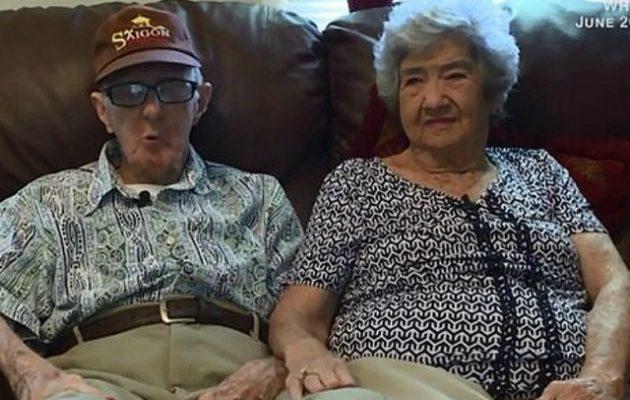 Πέθαναν με 12 ώρες διαφορά μετά από 71 χρόνια γάμου
