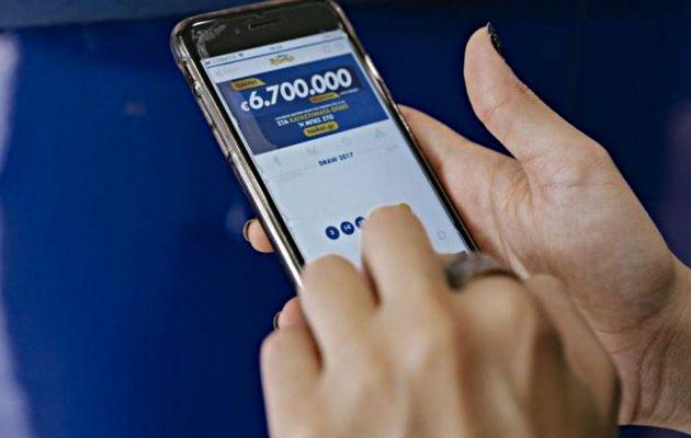 O πρώτος μεγάλος τυχερός του TZOKEΡ online κέρδισε 6,78 εκατ. ευρώ στο μεγάλο τζακ ποτ
