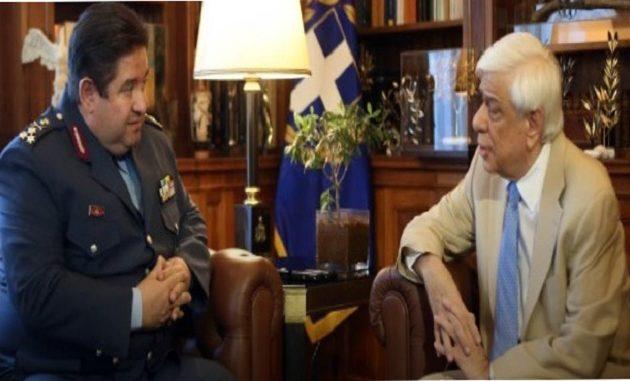Τι είπε ο Παυλόπουλος στον νέο αρχηγό της Αστυνομίας