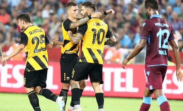 Europa League: Άγγιξε το θαύμα η ΑΕΚ αλλά αποκλείστηκε από την Τραμπζονσπόρ
