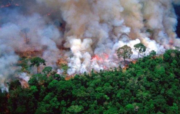 Η Βραζιλία αρνήθηκε τη βοήθεια των G7 για τη φωτιά στον Αμαζόνιο και χλεύασε τον Μακρόν