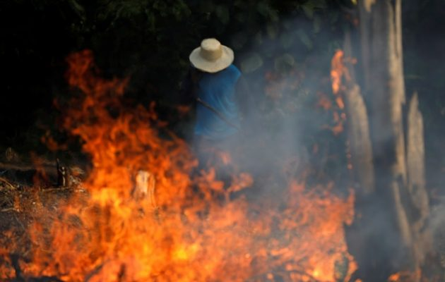Περιβαλλοντική τραγωδία στο τροπικό δάσος του Αμαζονίου (βίντεο)
