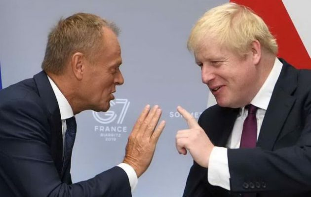 Ο Μπόρις είπε στον Τουσκ: Η Βρετανία φεύγει στις 31 Οκτωβρίου από την ΕΕ