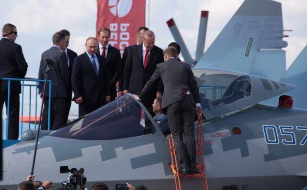 Η Τουρκία θα αγοράσει ρωσικά μαχητικά και παίζει τα προσχήματα