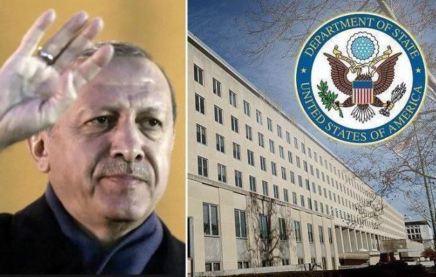 Αμερικανός αξιωματούχος ζητά από την Τουρκία να επιστρέψει στην αγκαλιά των ΗΠΑ αλλά χωρίς S-400