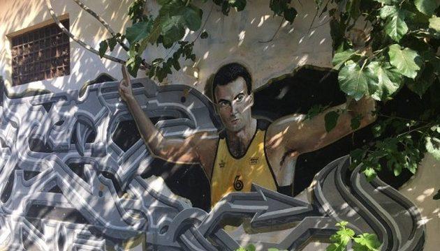 Ντροπή: Υπάνθρωποι βεβήλωσαν το γκράφιτι του Νίκου Γκάλη (φωτο)
