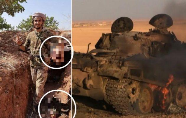 Οι τζιχαντιστές στην Ιντλίμπ αποκεφαλίζουν Σύρους στρατιώτες