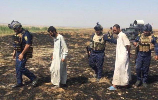 Η ιρακινή Αστυνομία απελευθέρωσε από το Ισλαμικό Κράτος δύο ομήρους