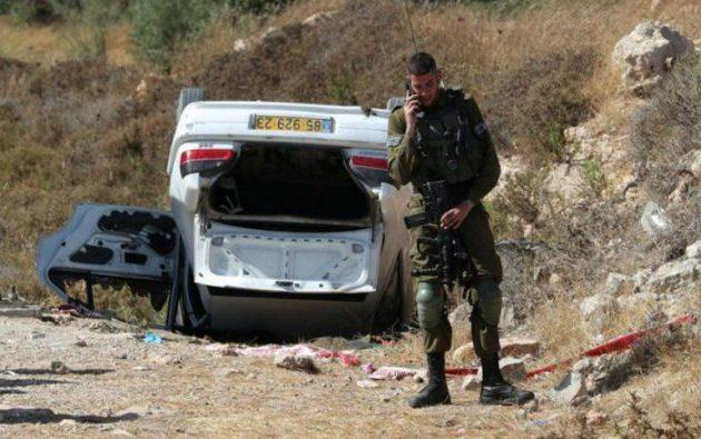 Παλαιστίνιος έπεσε με το αυτοκίνητό του πάνω σε Ισραηλινούς πολίτες