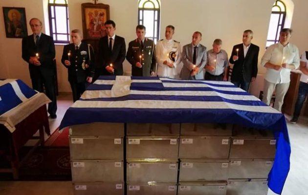 Ενταφιάστηκαν με όλες τις τιμές στην Κλεισούρα ακόμα 85 Έλληνες στρατιώτες του Αλβανικού Έπους
