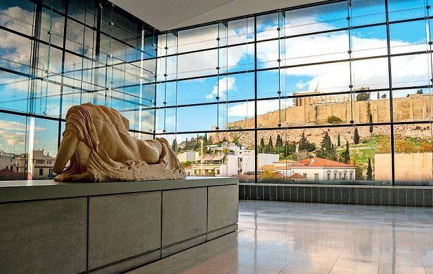 Από το Λούβρο στο Μουσείο της Ακρόπολης η Μετόπη του Παρθενώνα