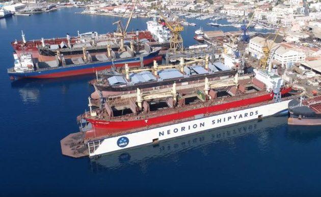 Οι Έλληνες Εφοπλιστές εκτινάσσουν το Νεώριο – Το 100ο πλοίο είναι γεγονός