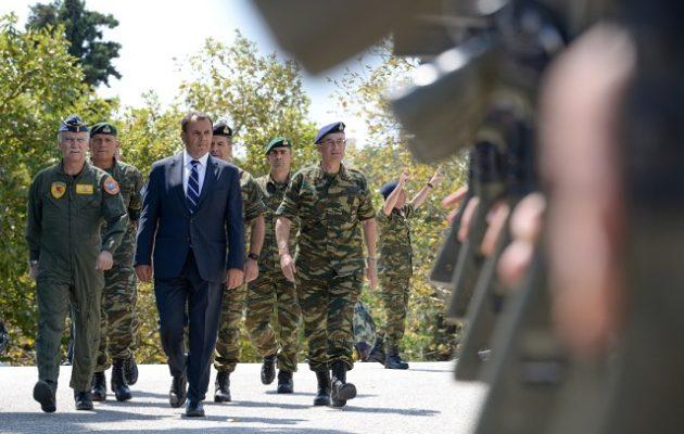 Παναγιωτόπουλος: Οι Ένοπλες Δυνάμεις διασφαλίζουν την ασφάλεια απέναντι σε κάθε απειλή