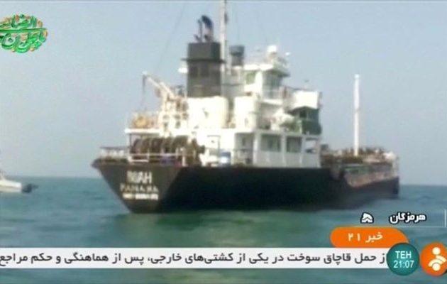 Οι Φρουροί της Επανάστασης του Ιράν κατάσχεσαν ακόμα ένα τάνκερ