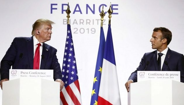 Μακρόν: Συμφωνία με ΗΠΑ για φόρο στην τεχνολογία – Πιθανή συνάντηση Τραμπ-Ροχανί