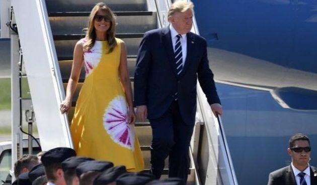 Έφτασε στη Γαλλία ο Τραμπ για τη Σύνοδο των G7 – Τα καυτά θέματα