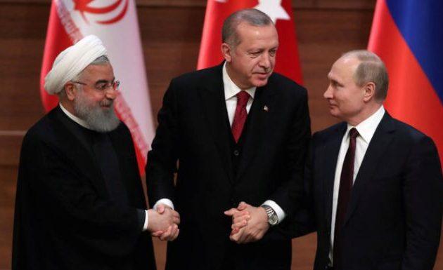 Τριμερής συνάντηση με Ρωσία και Ιράν για τη Συρία τον Σεπτέμβριο στην Τουρκία