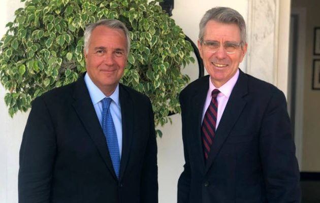 Βορίδης σε Πάιατ: Ο εμπορικός πόλεμος ΗΠΑ-ΕΕ δεν αφορά την Ελλάδα
