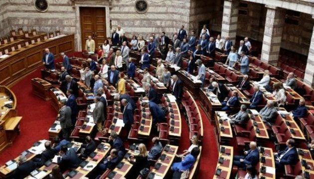 Ένταση στη Βουλή – Αποχώρησαν όλα τα κόμματα της δημοκρατικής παράταξης – Μόνη έμεινε η δεξιά