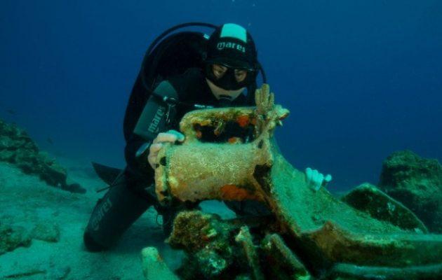Σημαντικά αρχαιολογικά ευρήματα από ναυάγια στη νήσο Λέβιθα