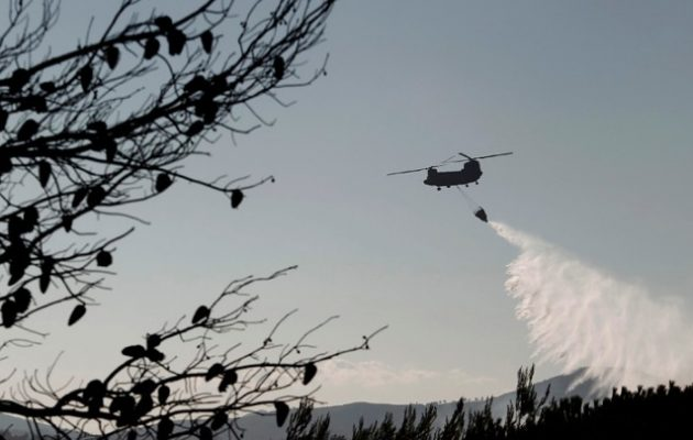Πολύ υψηλός και την Τρίτη ο κίνδυνος πυρκαγιάς, ιδιαίτερα στην Αττική