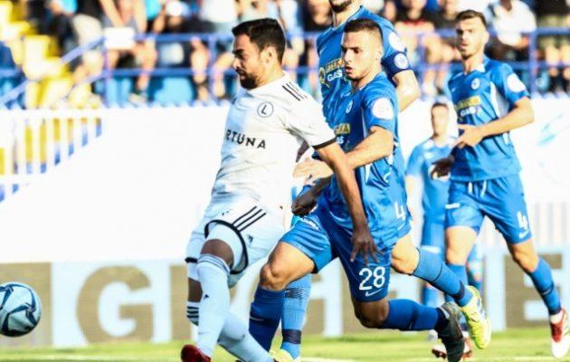 Αποκλείστηκε ο Ατρόμητος με 2-0 από τη Λέγκια