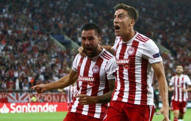 Ο Ολυμπιακός συνέτριψε 4-0 την Κράσνονταρ και έβαλε πλώρη για τους ομίλους του Champions League