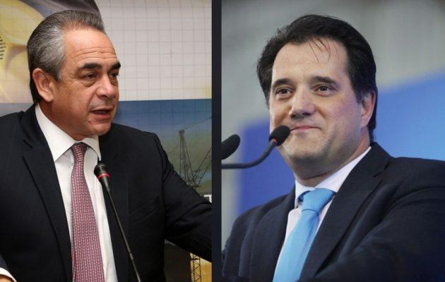 Τι ζήτησε ο Κ. Μίχαλος από τον Άδωνι Γεωργιάδη για την ενίσχυση της επιχειρηματικότητας