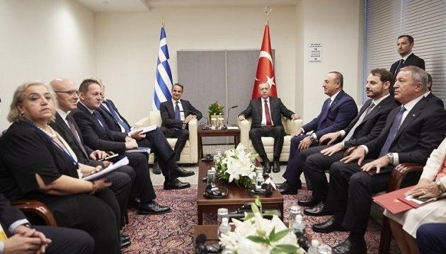 Τι έθεσε ο Μητσοτάκης στον Ερντογάν – Τι ζήτησε ο Τούρκος και πού συμφώνησαν